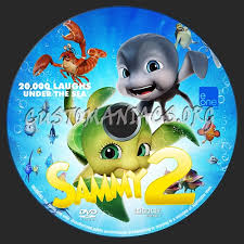 sammy u0027s adventures 2 dvd label dvd covers u0026 labels