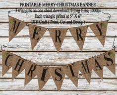 printable believe banner bunting download burlap believe christmas banner printable diy