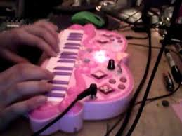 Disney Princess Keyboard Vanity Circuit Bent Disney Princess Keyboard Youtube