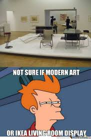 Modern Art Meme - an ongoing collection of art related memes contemporary art people