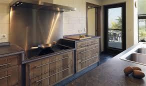 meuble cuisine bois brut meuble cuisine en bois brut cuisine l l gance brute en p os meuble
