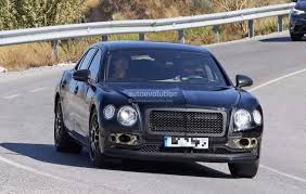 bentley flying spur 2018 spyshots 2019 bentley flying spur prototype hides gorgeous design