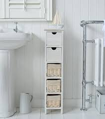 White Bathroom Storage Drawers Floor Bathroom Storage Cabinets The White Lighthouse Bathroom