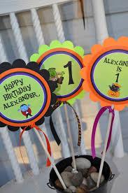 Party Centerpieces Halloween Birthday Door Sign Halloween Birthday Decorations 1st