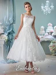 tea length wedding dresses tea length wedding dress 116136 enchanting by mon cheri