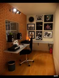 Speakers On Shelves Above Desk Do This With Ikea Lack Shelves To Create Your Own Home Recording Studio