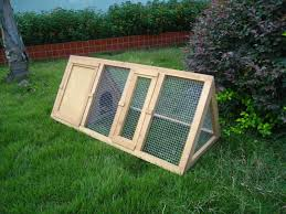 70 off rabbit hutch guinea pig house cage pen with built in run