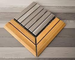 cedar flooring snap together corner superior saunas