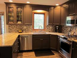 unfinished kitchen wall cabinets with design of room corner
