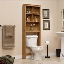 Bathroom Shelf Organizer by Bathroom Over Toilet Cabinet Oak Space Saver Storage Shelf