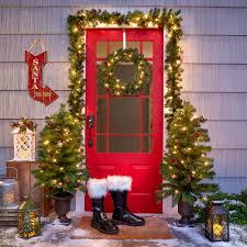 christmas wreaths u0026 garlands decorative door wreaths christmas