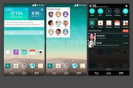 leaked screenshots show off new ui of the lg g3 androidguys