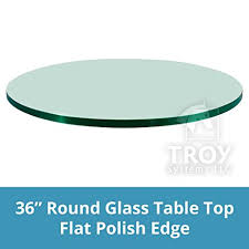 Rounded Edge Coffee Table - amazon com glass table top 36