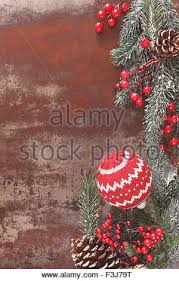 christmas background with woolly christmas decoration and xmas