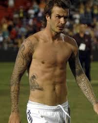 romeo beckham shows off transfer tattoos to match dad david