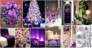 stunning purple christmas decor ideas for a royal celebration idolza