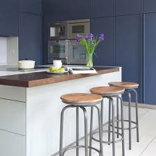 Kitchen Colour Ideas Modern Kitchen With Navy Units And White Island Richard Gadsby 920x920 Jpg