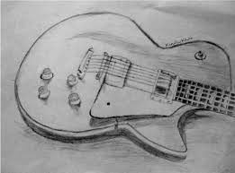 pencil drawings of guitars drawing art gallery