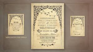 antique wedding invitations antique wedding invitations with