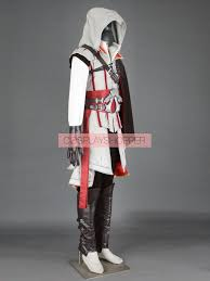 Assassins Creed Halloween Costume Kids Ezio Auditore Da Firenze Cosplay Costume Deluxe Assassin U0027s Creed