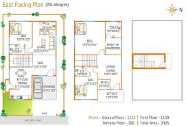 16 x 50 floor plans homes zone vastu home plans east facing homes floor plans