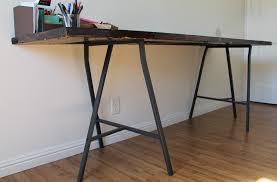 Diy Desk Legs Desk Diy Desk Legs