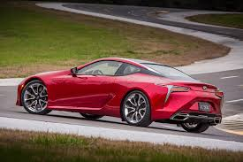 lexus convertible models 2018 hear the 2018 lexus lc 500 and its epic exhaust note automobile