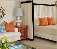 Dividing A Bedroom With Curtains Best 25 Room Divider Curtain Ideas On Pinterest Curtain Divider