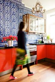 Top  Best Orange Cabinets Ideas On Pinterest Orange Kitchen - Orange kitchen cabinets