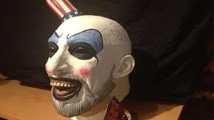 captain spaulding costume captain spaulding mask review