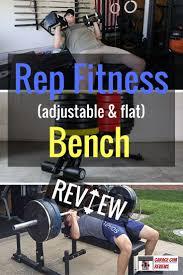 rep fitness adjustable u0026 flat bench review garage gym reviews