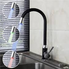 mitigeur evier cuisine avec douchette robinet mitigeur évier de cuisine avec douchette gachette led faucet