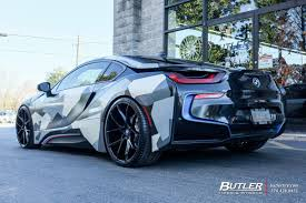 Bmw I8 On Rims - bmw i8 with 22in savini bm14 wheels exclusively from butler tires