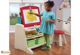 bureau plastique enfant bureau table à dessin 2 en 1 pour enfant step2