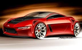 dodge stealth red mitsubishi 3000gt hybrid could replace lancer evolution gas 2