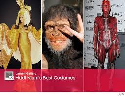 Venetian Halloween Costumes Heidi Klum U0027s Halloween Costumes Photos Toofab