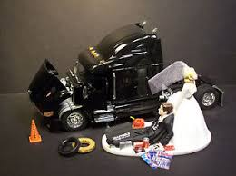 mechanic cake topper auto mechanic truck wedding cake topper new peterbilt black