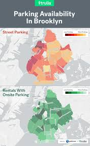 Map Of Brooklyn Ny Best And Worst Places For Renters To Park In The Big City