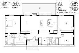 ranch homes floor plans 3 bedroom 2 bath ranch house plans escortsea
