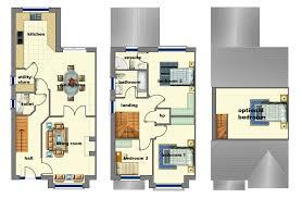 three bedroom houses marvellous three bedroom semi detached house plan ideas ideas