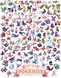 generation iii u0027 pokemon 11x14