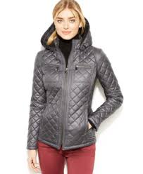 laundry by design hooded jacket laundry by design hooded quilted puffer coat coats women macy s