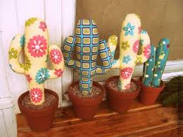 Handmade Home Decor Home Decorating With Cacti And Handmade Cactus Home Decorations