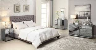 Silver Mirrored Bedroom Furniture by Mirror Bedroom Set Furniture Mirror Bedroom Sets Celine 6 Piece