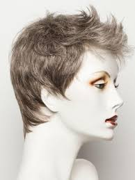 salt and pepper pixie cut human hair wigs risk by ellen wille best selling wig 40 off sale wig outlet com