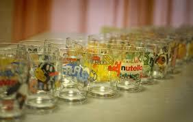 bicchieri della nutella nutella collector jar vasetto nutella possono essere usati come