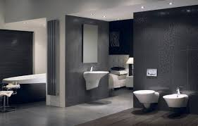 Small Bathroom Design Ideas 2012 by Small Bathroom Bathrooms Budget Dark Floor Tiles Wooden Cabinets