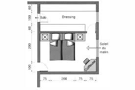 faire un dressing dans une chambre plan chambre où mettre le lit dans la chambre bedrooms
