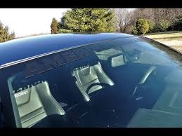 mustang windshield decal 2013 ford mustang gt matte black windshield