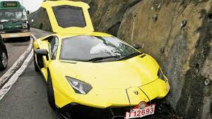 crashed lamborghini for sale lamborghini aventador lp 720 4 50 anniversario crashed in hong
